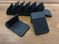 SKB Studio Flyer Laptop Cleats Set (x8) Rubber/Velcro