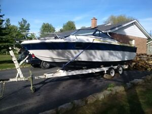 20 foot boat and dual axle trailer