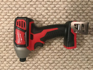 Milwaukee M18 1/4 hex impact driver(NEW)