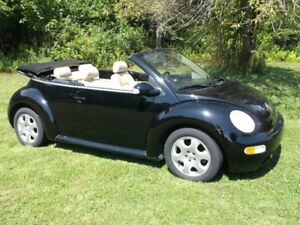 2003  Volkswagen Beetle Convertible ONLY  SOLD  Yarmouth