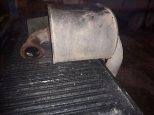 Muffler for Deutz 150MK3 tractor