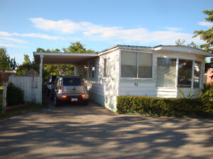 61 Greenwood Trailer Mobile Home Carport Fenced Beside Park
