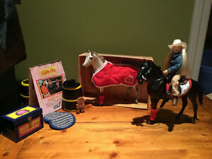 Breyer (Saddle Club) Horses, Doll and Accessories