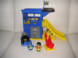 Fisher Price Little People Batcave playset