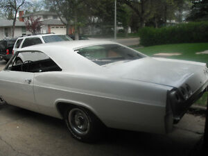1965 IMPALA SS project needs completion