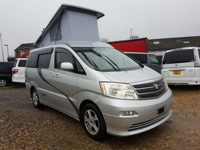 TOYOTA ALPHARD CAMPERVAN WITH REAR CONVERSION