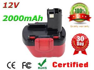 12V 2.0Ah Battery For Bosch BAT043 BAT045 PSR 1200,PSR 12-2,PSR 12,PAG 12V VE-2