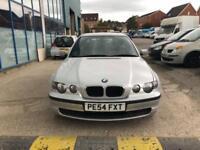 BMW 316 1.8 2005MY ti ES Compact - 2004 54-REG - 9 MONTHS MOT
