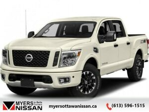 2018 Nissan Titan PRO-4X Crew  - Navigation -  Heated Seats - $2