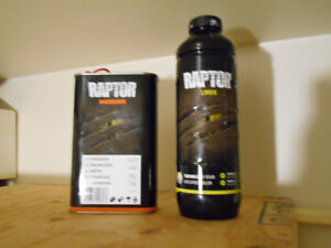 U-Pol Raptor Liner Tint to any color you wish Only $40