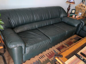 Couch and Love Seat - moving must sell