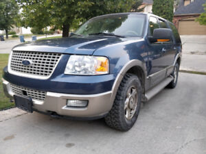 2003 Ford Expedition Eddie Bauer edition LOW KM