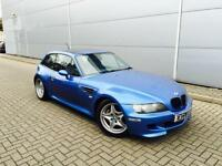 2000 W reg BMW Z3M 3.2 Coupe + Z3 + Estorial Blue + NICE Spec