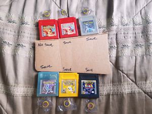 Pokemon Game Boy Games