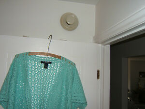 AQUA HAND CROCHET BOLERO  SIZE 24 (3X) Kingston Kingston Area image 3