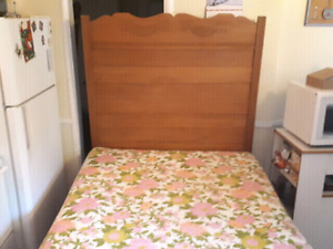 Deliver double bed with frame