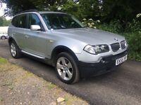 2005/55 BMW X3 2.0 TURBO DIESEL PX TO CLEAR