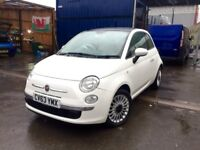 FIAT 500 LOUNGE 1.2, 2014 **TOP SPEC**NEW M.O.T**VERY CLEAN CAR**BARGAIN!!