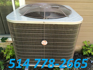 AIR CONDITIONERS OR HEAT PUMPS. CENTRAL AND WALL UNITS AVAILABLE West Island Greater Montréal image 6