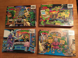 TMNT - Teenage Mutant Ninja Turtles - Puzzles collection 1990