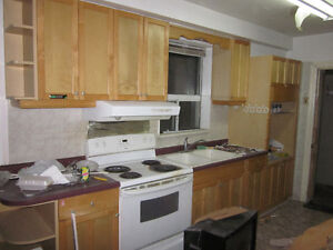 Used cabinets for entire Kitchen
