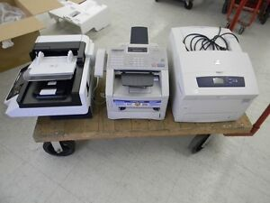 Fax machine working,  Printer and Digital sender for parts (lot)