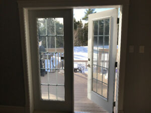 Double Opening French Patio Door