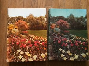 Vintage 1960 & 1964 New Illustrated Encyclopedia of Gardening