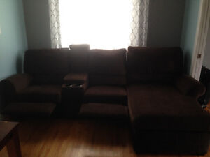 Sofa sectional with recliners St. John's Newfoundland image 4