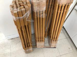 Used Oak spindles, Stair's wood