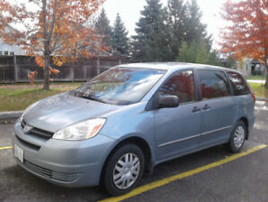 2004 Sienna CE - 8 seat - only 94K