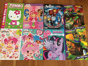 New! Assorted jumbo colouring & activity books Kitchener / Waterloo Kitchener Area image 1