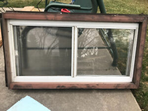 (3) Slider windows & (1) picture window for sale