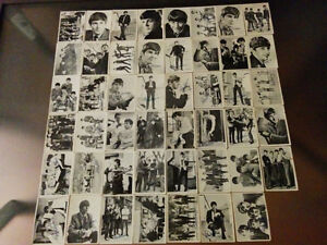 The Beatles Canada 1964 B&W Cards/Cartes N&B