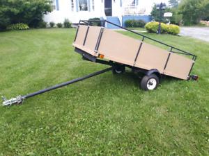 4x8 utility trailer like new