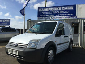 2008 08 FORD TRANSIT CONNECT T220-ONE OWNER- 69,000- AC - NO VAT -12 MONTHS MOT
