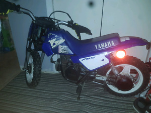 Yamaha PW50 dirt bike