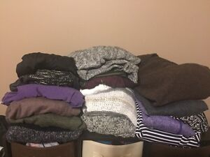 2 Garbage Bags Full of Mostly Sweaters - Size XL