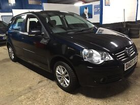 VW POLO 1.4 S AUTO 5DR 2007 EXCELENT CONDTION 1 OWNER FULL SERVICE HJSTORY