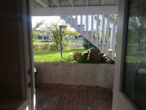 one bedroom walkout basement suite with separate entrance