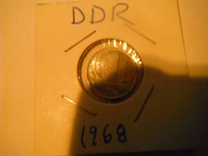 Coins from DDR (past EAST GERMANY)