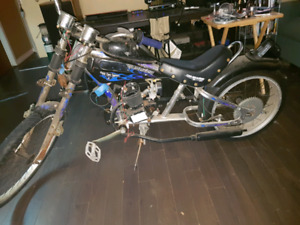80cc chopper bicycle STREET LEGAL