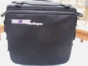 Crafters or Scrapbookers!~~Crop-IN Style Navigator Rolling Tote!