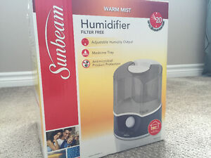 Humidifier Sunbeam Warm Mist