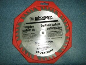 CARBIDE TIP SAW BLADE 8 1/4 IN.