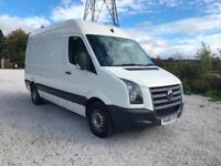 08 VOLKSWAGEN CRAFTER 2.5 TDI 109PS CR35 MWB PLYLINED NEW TYRES RELIABLE PX SWAP