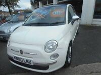 Fiat 500 LOUNGE (white) 2010