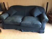 Two loose cover Sofas