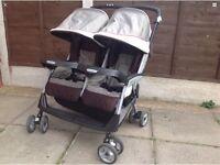 Mamas & Papas Twin Aria Stroller