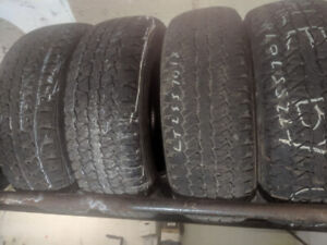 LT25570R18 10 PLY USED TIRES